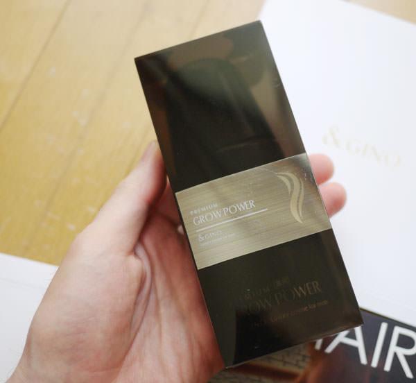 パッケージは黒くて半透明